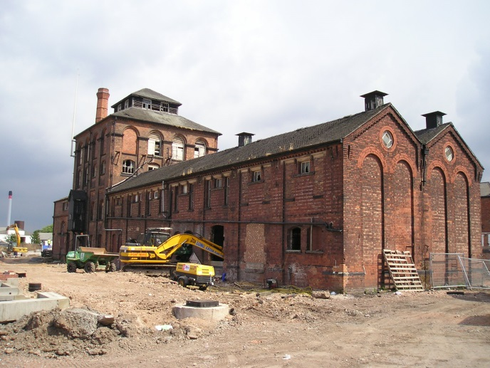 Former Everard & Co. Trent Brewery